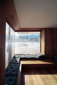 Couchette salon - Alpine-hut par OFIS-arhitekti - Stara Fuzina, Slovenie