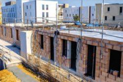Début de chantier rez de chaussée - Mascobado par Architecture & Environnement - Montpellier, France