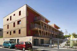 Façade Est sur rue - Mascobado par Architecture & Environnement - Montpellier, France