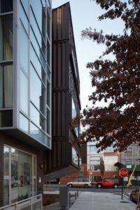 Façade résidence containers - Carroll-House par studio-Lot-Ek - Brookyln, USA