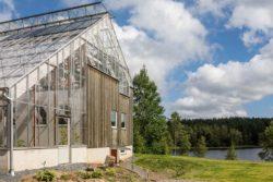 Façade -Solar-powered house par Eklund Stockholm - Goteborg, Suede