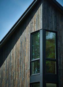 Ouverture vitree-Les soeurs par Anik Péloquin architecte - La Malbaie - Canada