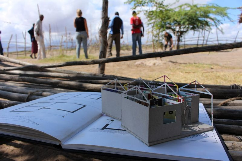 Maquette finie du projet - Babus-house par C-re-a.i.d - Kilimandjaro, Tanzanie