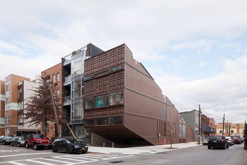 Route principale accès - Carroll-House par studio-Lot-Ek - Brookyln, USA