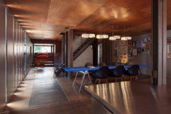 Salle séjour - Carroll-House par studio-Lot-Ek - Brookyln, USA
