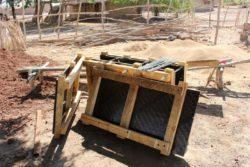 Site matériaux du chantier - Babus-house par C-re-a.i.d - Kilimandjaro, Tanzanie