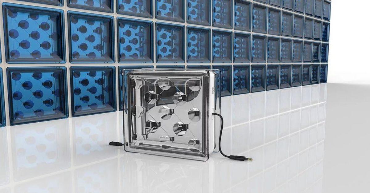 solar squared un bloc de verre qui g n re de l 39 lectricit build green. Black Bedroom Furniture Sets. Home Design Ideas