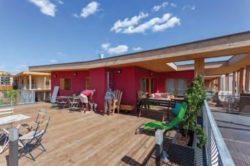 Terrasse partargé - Mascobado par Architecture & Environnement - Montpellier, France