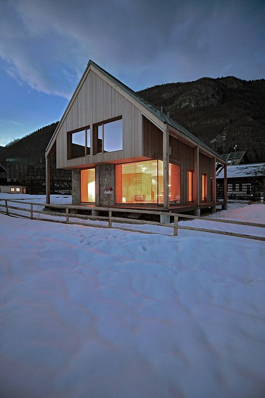 Alpine-hut par OFIS-arhitekti - Stara Fuzina, Slovenie