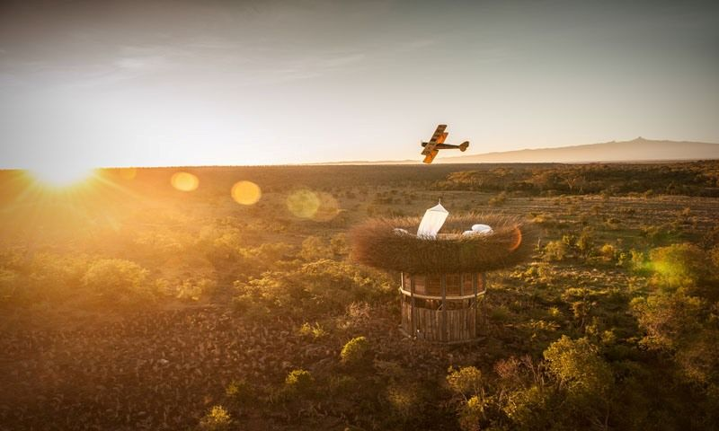 Vue aérienne - NAY PALAD par Daniel Pouzet - Segara Retreat, Kenya