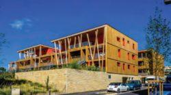 Vue d'ensemble côté rue réglisse - Mascobado par Architecture & Environnement - Montpellier, France