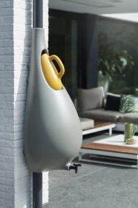 bac + recipient pour eau de pluie - Drop-of-Water par Van der Veer - Eindhoven, Pays-Bas
