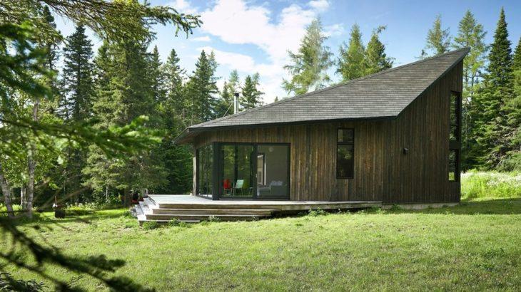 une - Les soeurs par Anik Péloquin architecte - La Malbaie - Canada