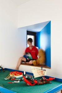 Chambre enfants - Hemp House par Steffen Welsch - Melbourne, Australie © Rhiannon Slatter