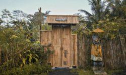 Clôture en bambou - Hideout par Jarmil Lhotak - Alena Fibichova - Bali, Indonesie © Fibichova