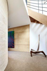 Couloir et déco murale - Hemp House par Steffen Welsch - Melbourne, Australie © Rhiannon Slatter