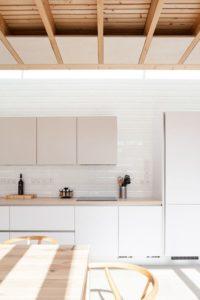 Cuisine et salle séjour - Charred-Wood par Stephen Kavanagh - Dublin, Irlande © Stephen Kavanagh
