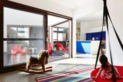 Espace salle de jeux enfants - Hemp House par Steffen Welsch - Melbourne, Australie © Rhiannon Slatter