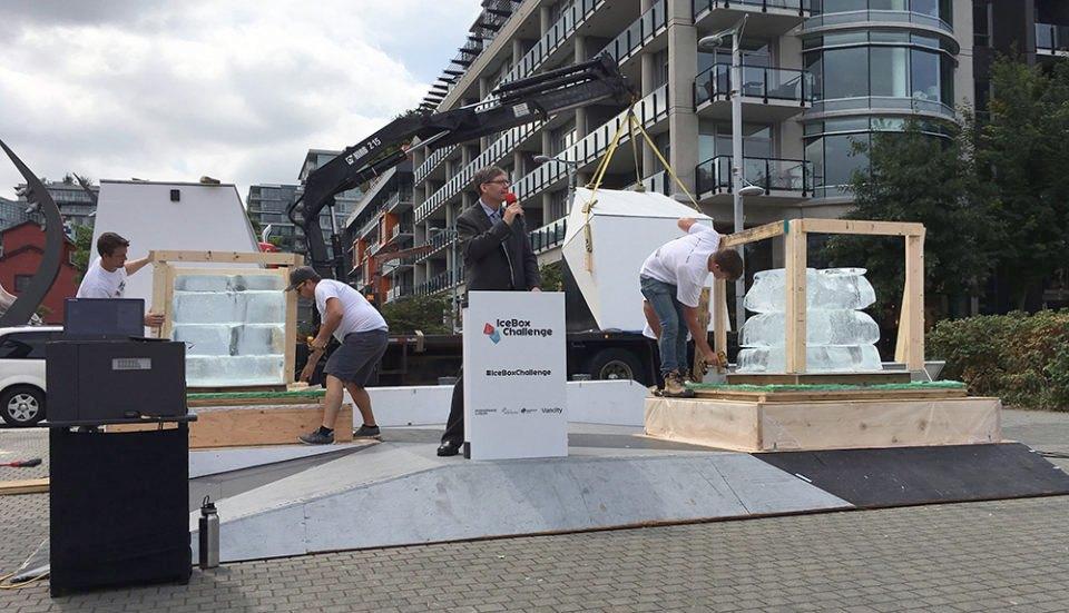 Ice box challenge de Vancouver-Canada