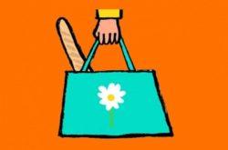 J'utilise mon sac ou mon cabas - Un cabas, c'est bien plus pratique, solide et plus joli que des sacs plastiques jetables