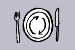 Je prends de la vaisselle réutilisable pour les repas en plein air - C'est agréable de déjeuner dehors, et encore plus agréable avec de la vraie vaisselle et moins de déchets