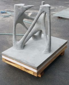 Module complexe de construction en impression 3D pour le bâtiment XtreeE