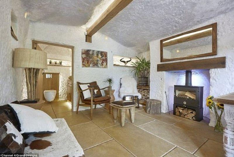 Salon & cheminée - the Rockhouse par Angelo Mastropietro - Worcestershire, Angleterre