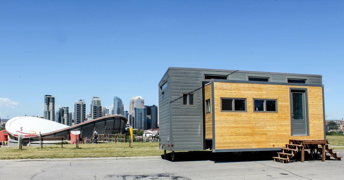 Une tiny house extensible pour gagner en espace build green - Quelle est la meilleure peinture pour plafond ...