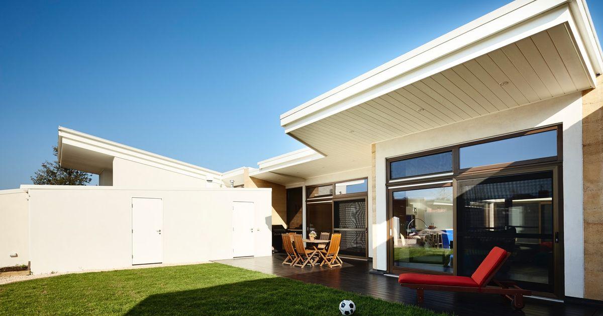 La premi re maison australienne en b ton de chanvre build green - La maison trojan melbourne ...