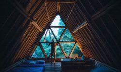 Vitrage rabbattable chambre - Hideout par Jarmil Lhotak - Alena Fibichova - Bali, Indonesie © Fibichova