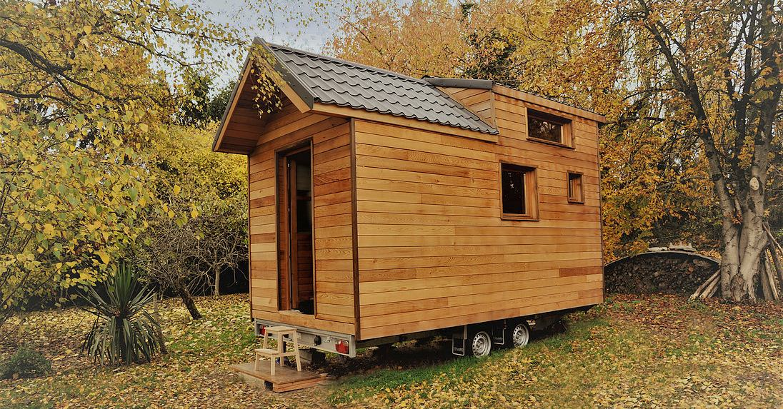 "Tiny house ""canadienne"" par l'Atelier des Branchés - France"