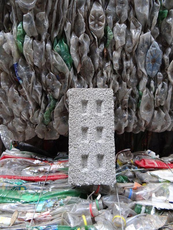 Brique PET recyclée -Ecoinclusión, Argentine