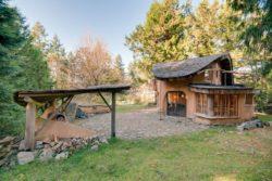 Cob cottage par Cobworks - Canada