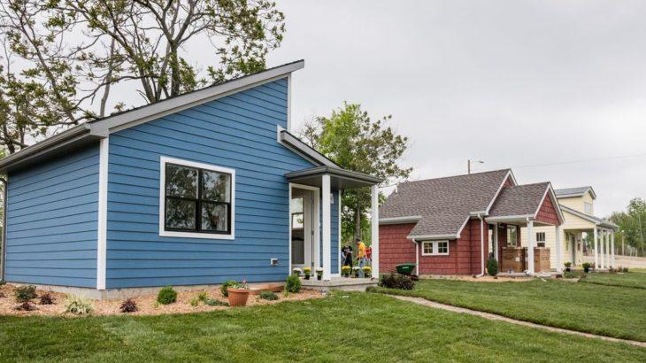 Une -Tiny-House par CCSS - Detroit, USA © jetsongreen