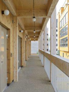 balcon - The-Wooden Box-House par SPRIDD architecs- Suède ©MikaelOlsson