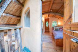 entrée chambre - Cob cottage par Cobworks - Canada