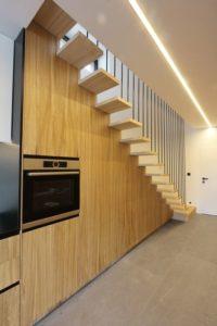 escalier - Week-end house par Hantabal architekti - Slovaquie