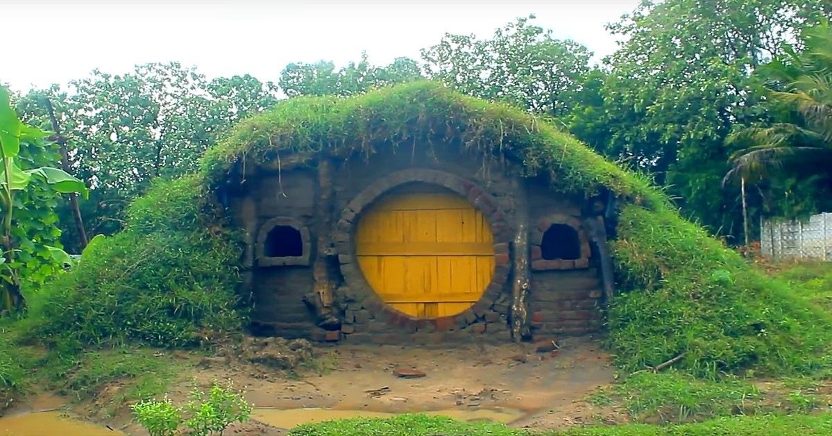 Vid o comment r aliser une maison hobbit avec des mat riaux locaux build green build green - Construire une maison en terre ...
