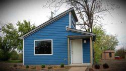 modèle petite maison - Tiny-House par CCSS - Detroit, USA © jetsongreen