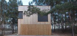 terrasse - Week-end house par Hantabal architekti - Slovaquie