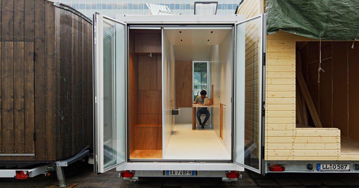 Vid o avoid un concept italien de tiny house tr s for Architecte italien contemporain