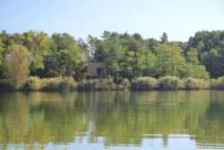 vue du lac - Week-end house par Hantabal architekti - Slovaquie