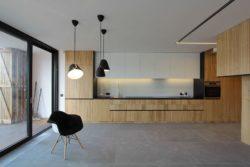 plan de travail cuisine - Week-end house par Hantabal architekti - Slovaquie