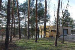 vue jardin - Week-end house par Hantabal architekti - Slovaquie