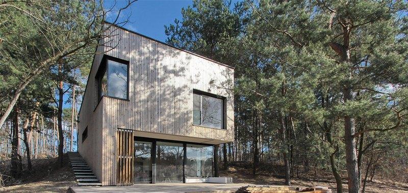 Week-end house par Hantabal architekti - Slovaquie