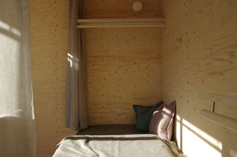 Chambre - Shelter-Finland par Wood Program Studio - Finlande, Helsinki