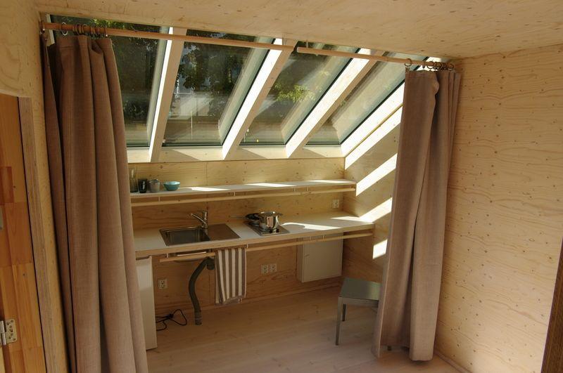 Cuisine - Shelter-Finland par Wood Program Studio - Finlande, Helsinki