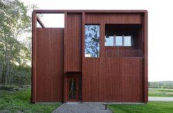 Façade entrée et vue balcon - House-Drummer par Bornstein Lyckefors - Karna, Suede © Mikael Olsson
