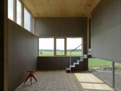 Plancher et plafond bois - House-Drummer par Bornstein Lyckefors - Karna, Suede © Mikael Olsson
