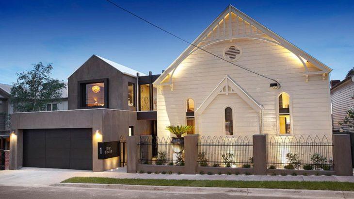 Une- Church-Built par Bagnato Architects - Melbourne, Australie © Axiom